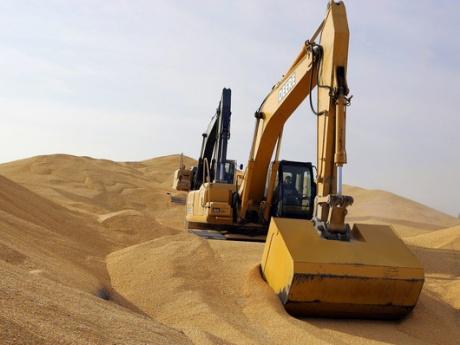 excavator-porumb