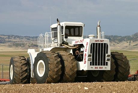 big bud tractor