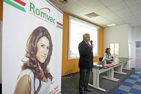 prezentare romvac