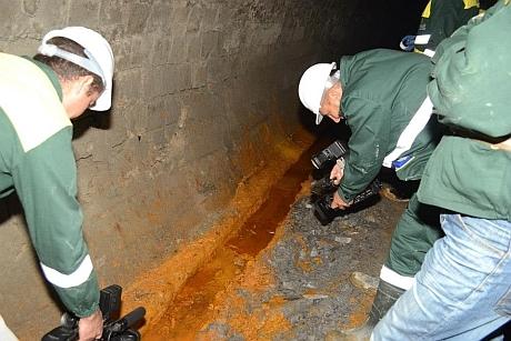 poluare subterana in rosia montana