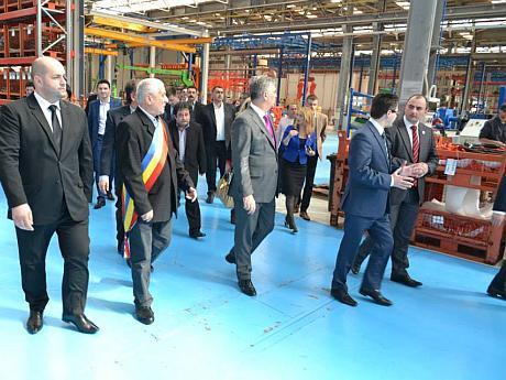 Vizita la fabrica Maschio Gaspardo