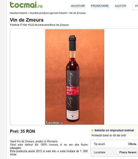 vin de zmeura