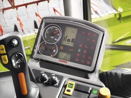 Claas Avero 160 computer cabina