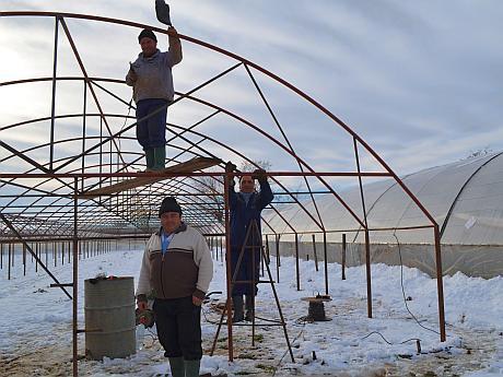 constructie solar vidra