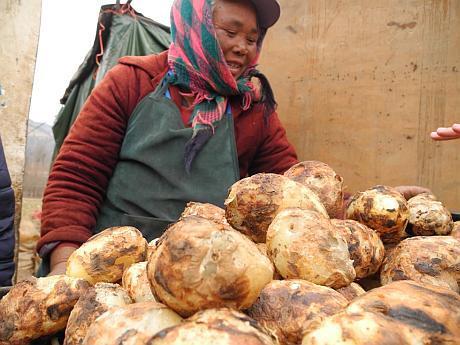 consumul de cartofi in China