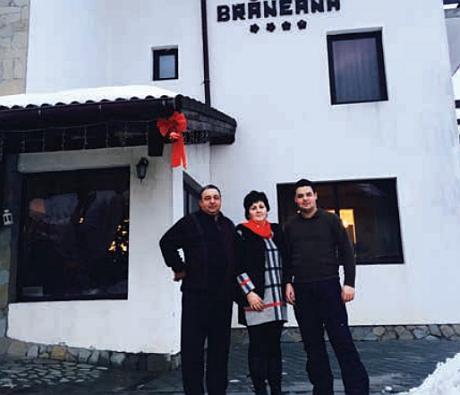 Familia Enescu Casa Braneana