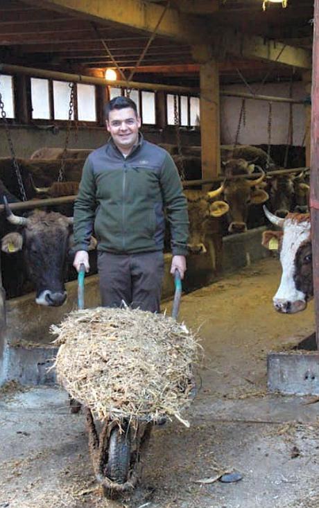 Vlad Enescu tanar fermier Brasov