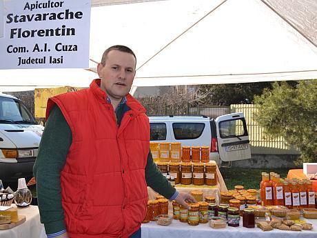 Florentin Stavarache apicultor Iasi