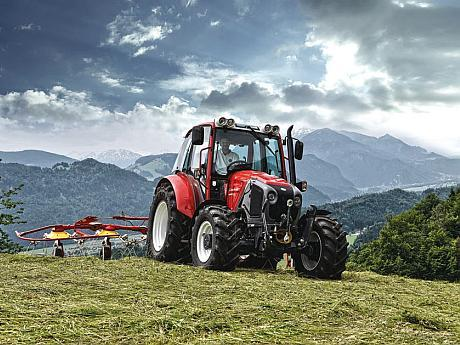 Tractor Lindner Geotrac 84 Pro