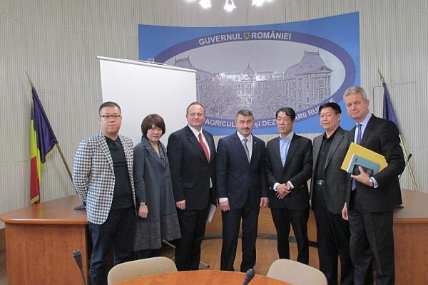 MADR delegatie chinezi