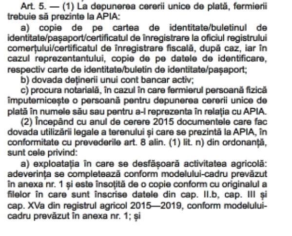 art 5 alin 2