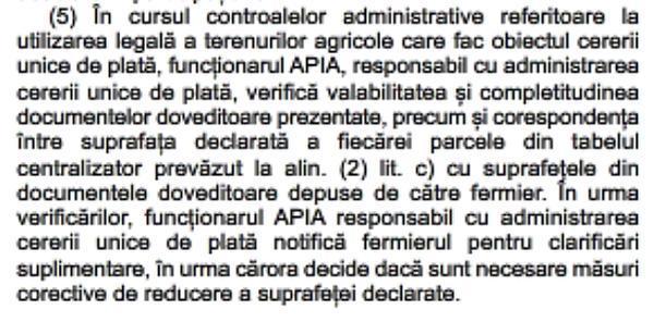 art 5 alin 5