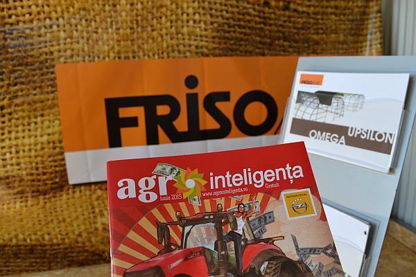 Revista Agrointeligenta la standul Frisomat