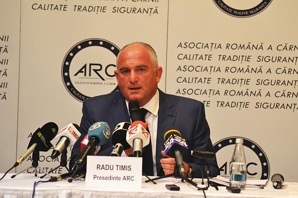 Radu Timis Presedinte Asociatia Romana a Carnii