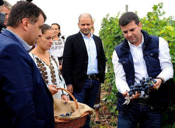 Horia Culcescu la vizita ministrului Daniel Constantin