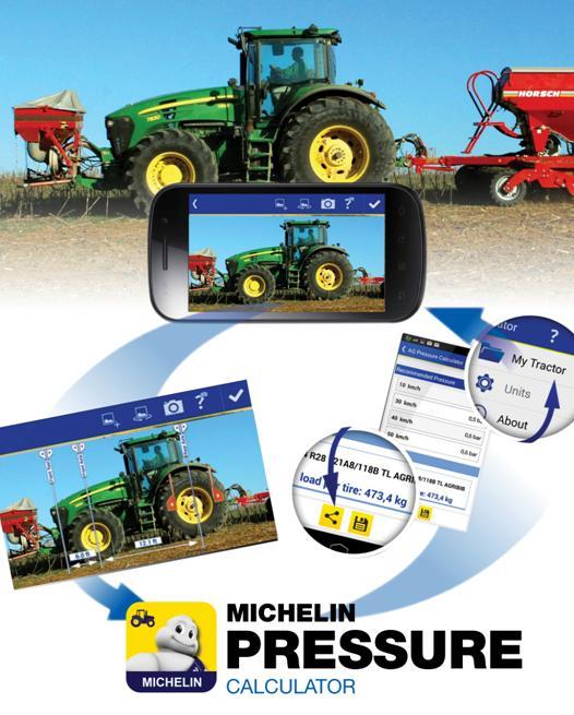 verificare presiunea anvelopelor agricole