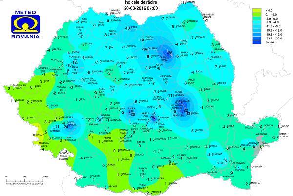 harta temperaturi