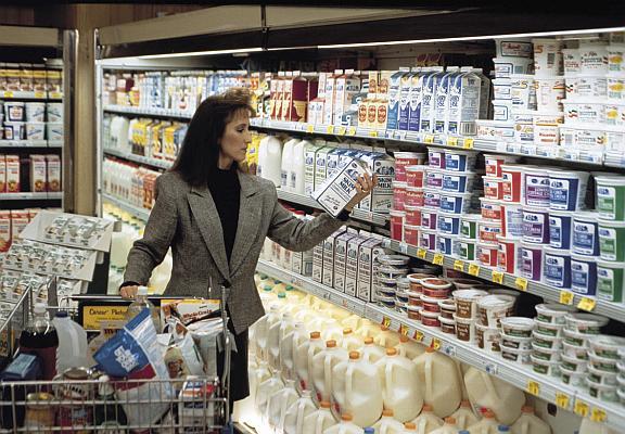 lapte supermarket