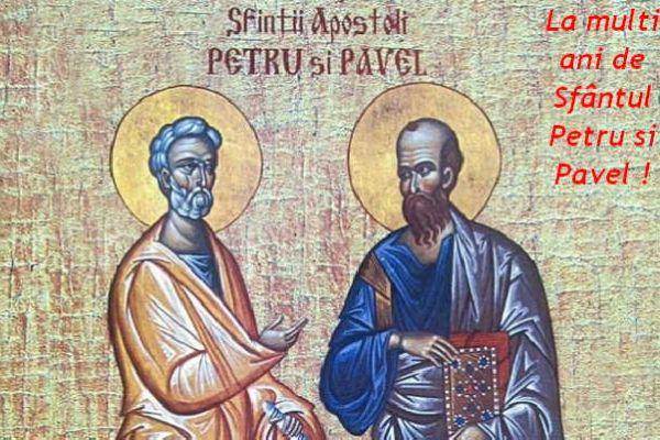 Apa cea Vie » Sfinţii Apostoli Petru şi Pavel (29 iun ...  |Sf. Petru Si Pavel