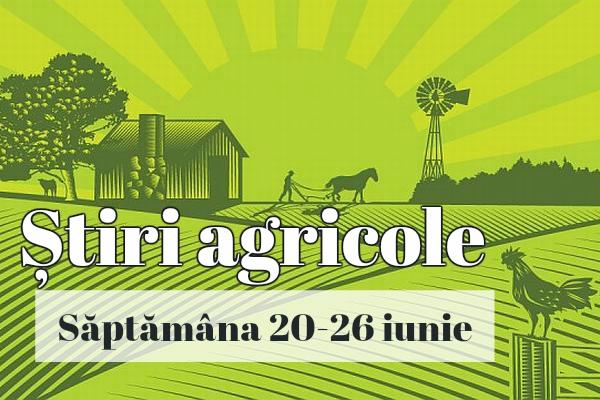 stiri agricole