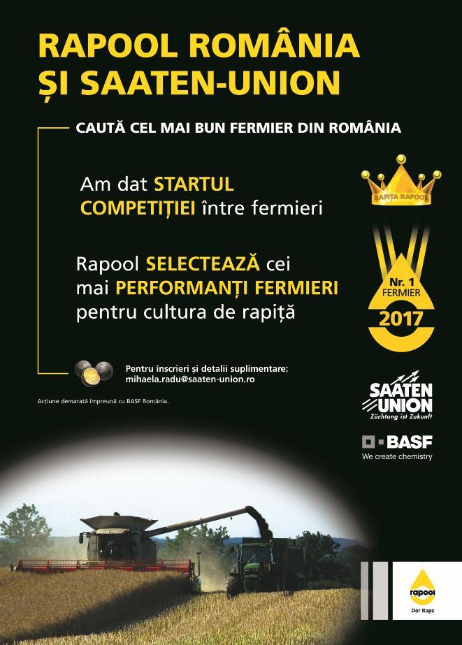 concurs pentru fermieri Rapool rapita