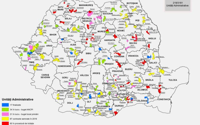 Hartă Cu Cadastrul Gratuit Al Terenurilor Localitățile Unde Incep