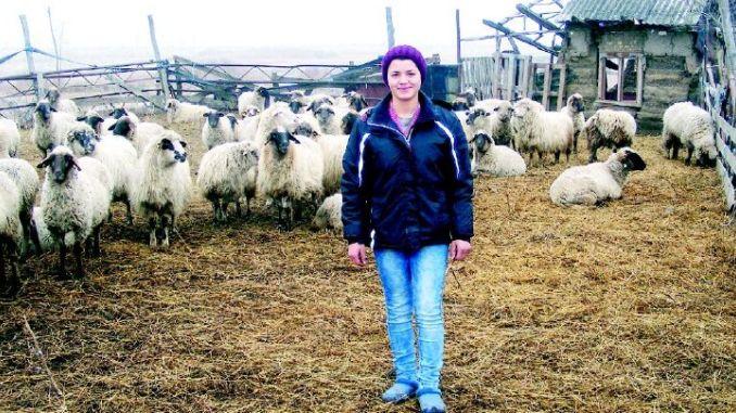 Diana Rafailă deține propria fermă de animale (foto: Renasterea.ro)