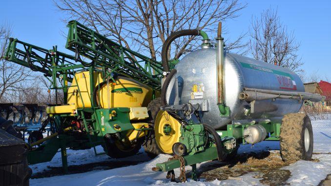 Utilaje agricole in ferma