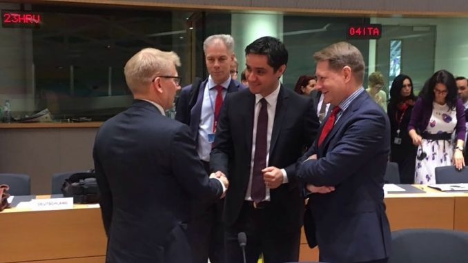 discutii la Bruxelles