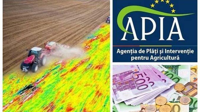 Calendar plati APIA 2018