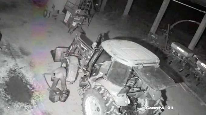 Hoti prinsi la furat de motorina