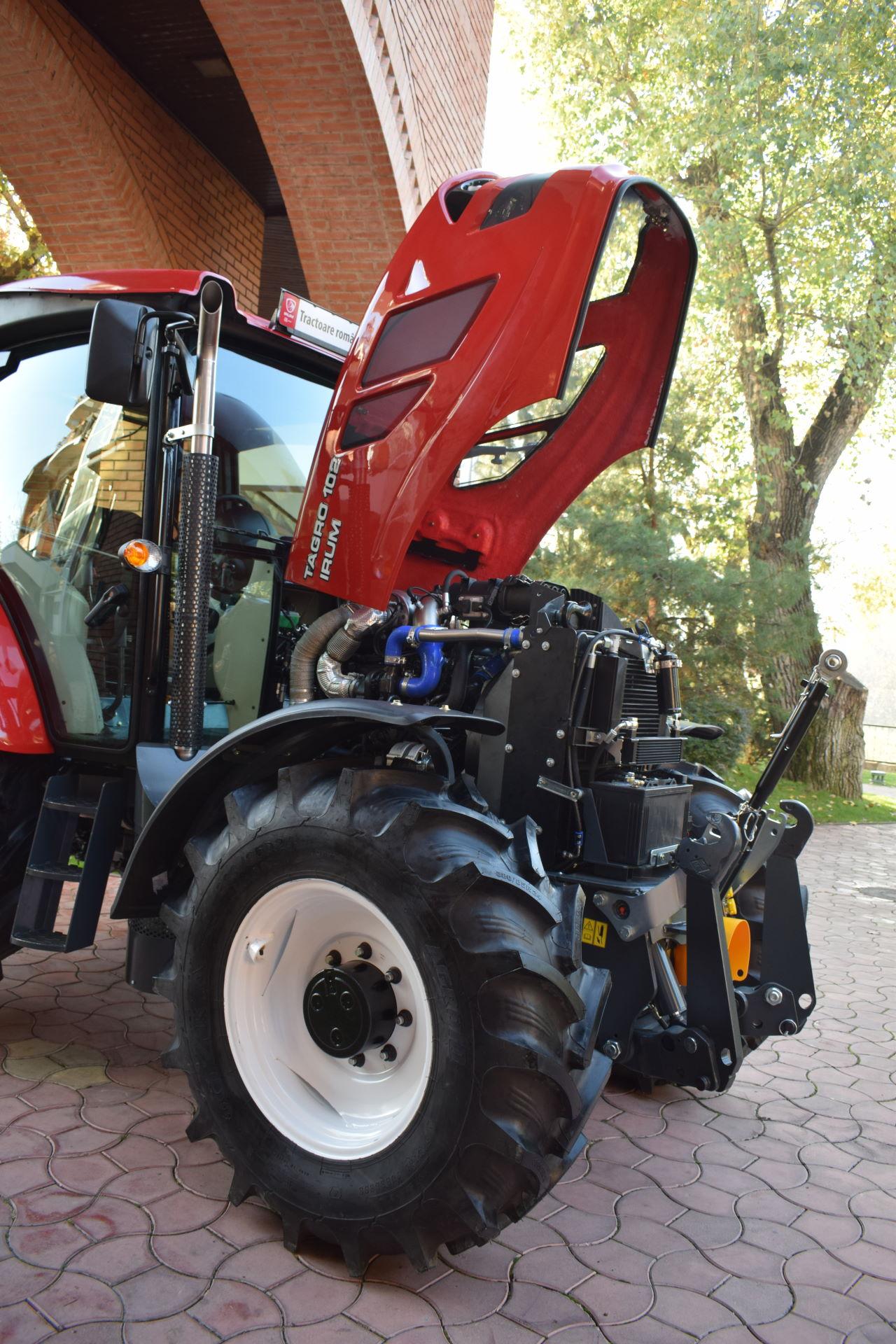 Tractor romanesc Tagro Irum ridicata