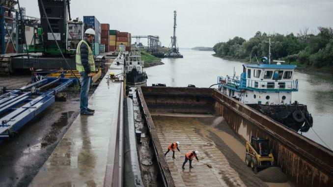 Port Giurgiulesti Moldova Trans Oil