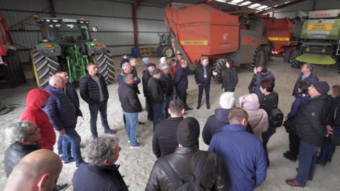 Vizita Cooperative Limagrain Franta 2018