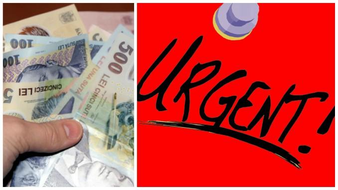 Urgent bani pentru fermieri