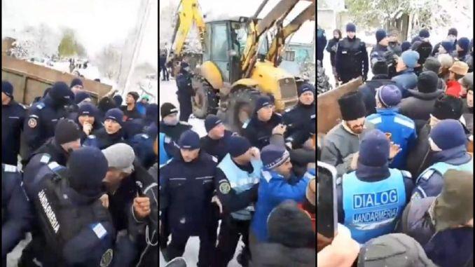 Revolta oameni Rusanesti Olt