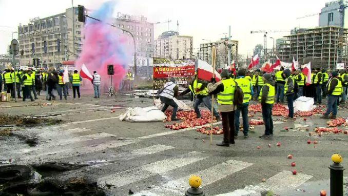 protest fermieri polonezi