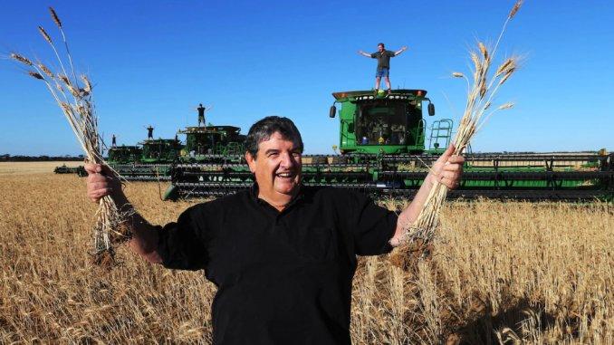 John Nicoletti fermier Australia
