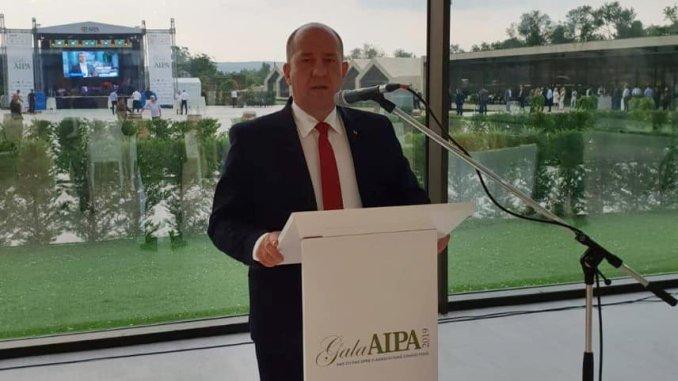 Adrian Pintea la Gala AIPA Moldova