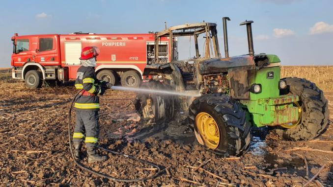 incendiu-tractor-camp-isu