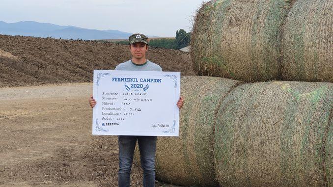 Tehnologia care a adus la Lacto Agrar din Vaidei o producție de 70 t/ha