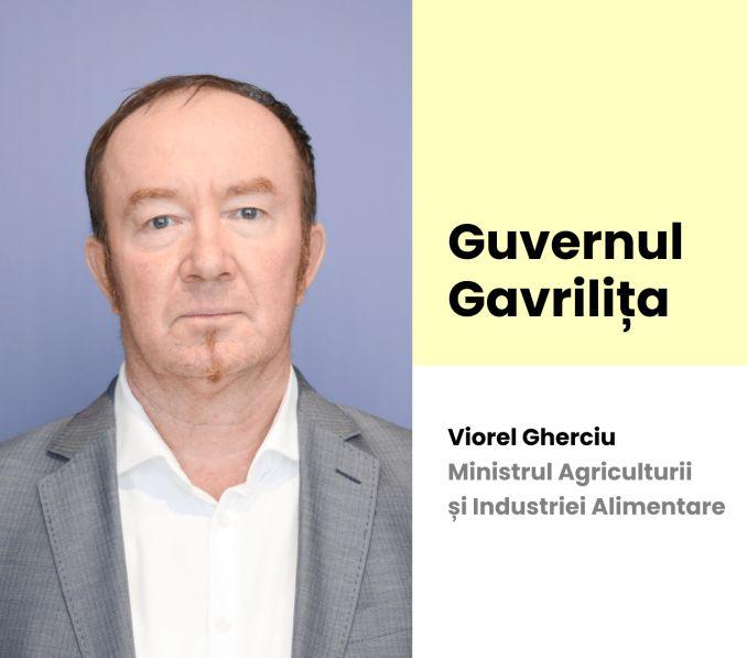 Viorel Gherciu, propus ministru al Agriculturii și Industriei Alimentare în  Republica Moldova